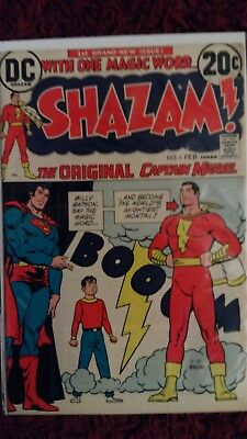 Shazam! #1 (Feb 1973, DC) Movie coming soon