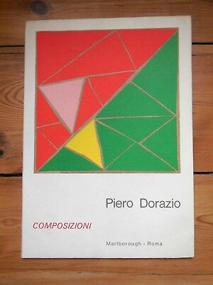 PIERO DORAZIO. composizioni. catalogue. Marlborough Galleria d'Arte. Roma. 1972