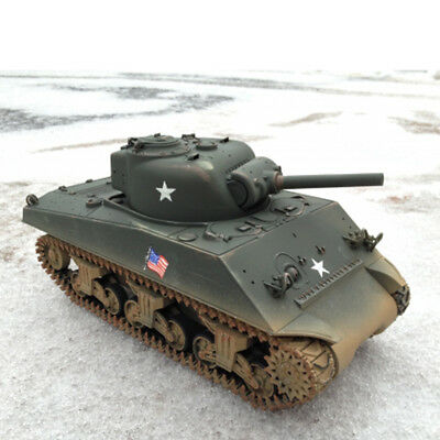 New 1:16 HL M4A3 Sherman Tank Custom Paint Metal T74 Or T49 Tracks Included
