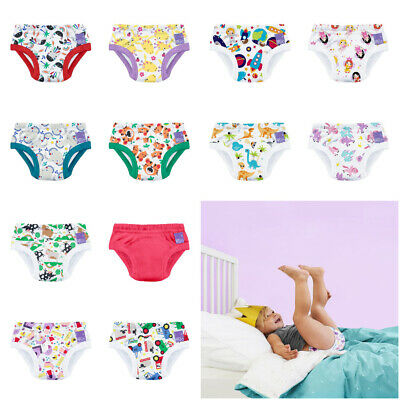 Bambino Mio Potty Training Pants Pull Up Reusable Cotton Blend Nappy Washable