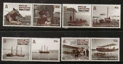 BRITISH ANTARCTIC TERR. SG575/82 2012 75th ANNIV OF GRATHAM LAND EXPEDITION  MNH