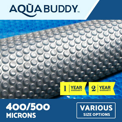 Aquabuddy Pool Cover Solar Swimming Outdoor Bubble Blanket REAL 400 500 Micron