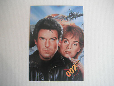 JAMES BOND : GOLDENEYE : FULL 90 CARD BASE SET . ISSUED 1995 By GRAFFITI INC.