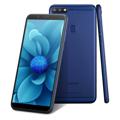 Huawei Honor 7C Bleu 3+32GB 4G Smartphone octacore Android 8.0 Face ID Téléphone