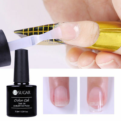 7.5ml UR SUGAR Quick Extension Gel Clear Nail Tips UV Poly Builder Gel Manicure