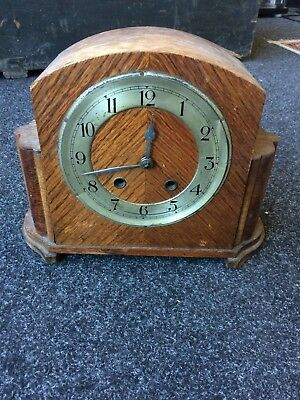 Antique Mantle Clock For Spares & Repairs