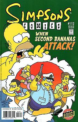 Simpsons Comics 112 Bongo 2005 Spin-Off Showcase - 3 Features  Templeton Rote