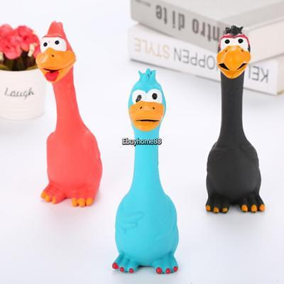 Cute Vocal Chicken Shape Toy Dog Screaming Squeaky Toy Pet Toys EHE8