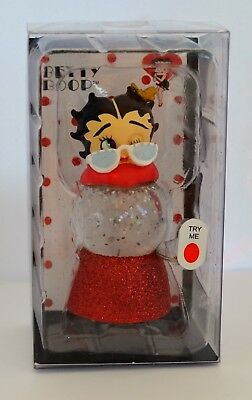 Betty Boop Glamorous Color Changing Lighted Mini Sparkler Globe by Westland