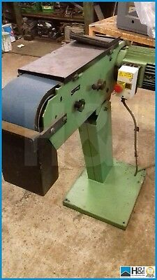 HM 150mm industrial Linisher engineering / wood Built in Denmark
