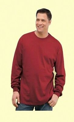 Big Men's Long Sleeve Tees - XL to 4X (Lots of 36)