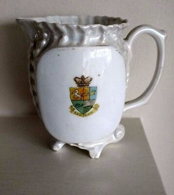 Antique Victorian / Edwardian China Commemorative  -  RAMSGATE CRESTED JUG