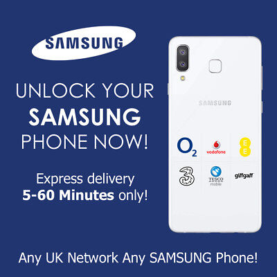 Uk Unlock Code Samsung Uk Note 9 S9  All Uk Network Only Super Express Service