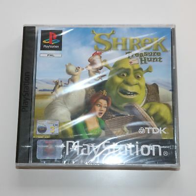 Shrek Treasure Hunt - Sony Playstation Ps One PS1 Jeu - Neuf et Scellé