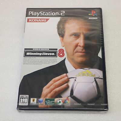 Monde Du Football Winning Onze 8 - Sony Ps2 Playstation 2 Jeu - Jap Version -