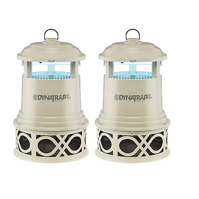 Dynatrap DT2000XLP Decora Full Acre Mosquito and Flying Insects Trap (2 Pack)