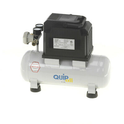 Quipall 2-.33 Oil Free Compressor, 1/3 HP, 2 gallon,Steel Tank New