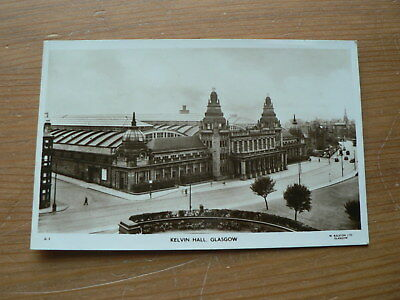 Old Photo Postcard: Kelvin Hall, Glasgow, Scotland