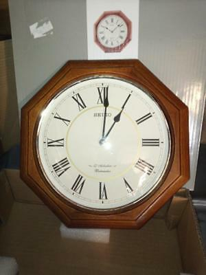 Seiko Wall Clock with Melodies and Westminster Chime QXM336B