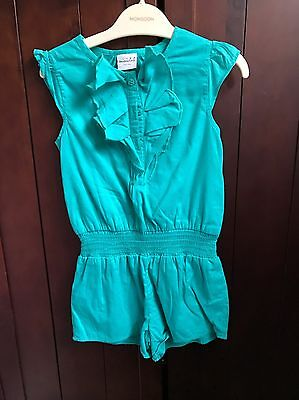 Girls Summer Playsuit. Age 2-3. VGC