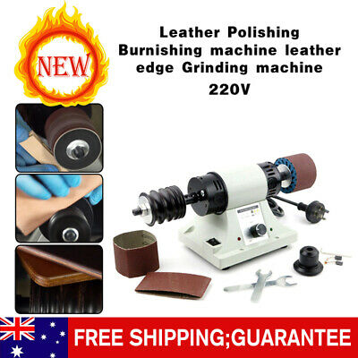 Leather Polishing Burnishing Machine Leather Edge Grinding 8000RPM 110V/220V