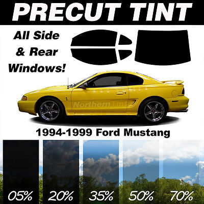 Precut All Window Film for Ford Mustang 94-99 any Tint Shade