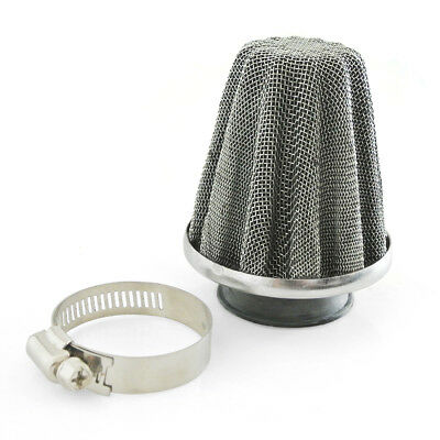 38mm Air Filter Fit Scooter ATV Quad Pocket Dirt Pit Bike Stainless Steel