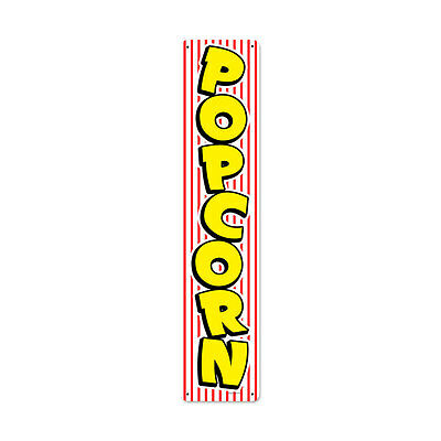 POPCORN Metal Schild 71cm USA CAFE FOOD BAR DINER PUB retro Kino Werbung groß