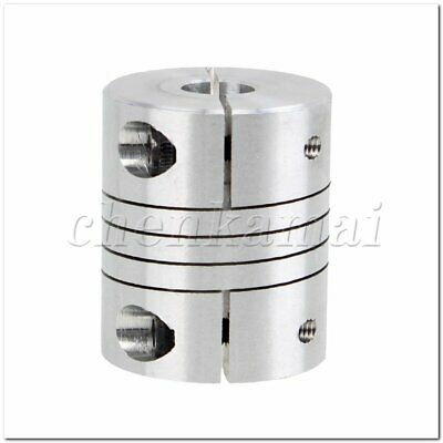 "0.315"" x 0.472"" CNC Stepper Motor Coupler Flexible Clamp Shaft Coupling 8 x 12mm"