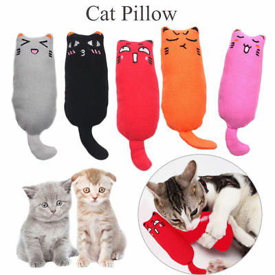 Pet Creative Pillow Scratch Crazy Cat Kicker Catnip Toy Teeth Grinding Toys