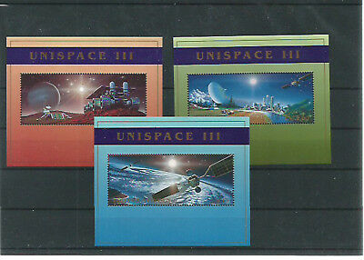 53532 / UNO ** MNH Lot Space Blöcke