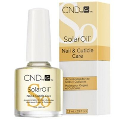 CND Nail SOLAR OIL Nail & Cuticle Conditioner 7.3ml ~ NEW PACKING ~