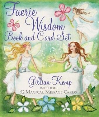 Faerie Wisdom Book and Card Set: Includes 52 Magical Message... by Kemp, Gillian