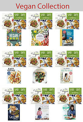Vegan Collection Feed Me Keep It on the Go Goodness recipes Set cookbook NEW