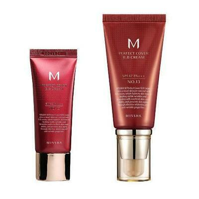 MISSHA M Perfect Cover BB Cream SPF42 PA+++ 20mL, 50mL / #13 #21 #23 #27 #29 #31