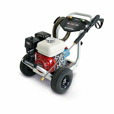 Simpson 3,400 PSI 2.5 GPM Gas Pressure Power Washer Powered by Honda & CAT Pump