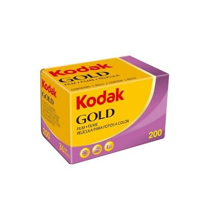 Kodak Gold 200ASA 35mm Colour Print Film 135-24 - 24 Exposures