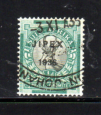 "South Africa #72  1936  ""jipex""  Single      F-Vf  Used"