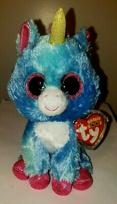 "Ty Beanie Boos ~ STITCHES the Unicorn 6"" (Michael's Exclusive) NEW MWMT"