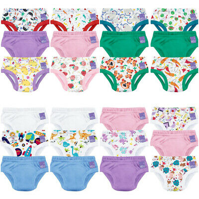 Bambino Mio Training Pants Potty Reusable Pull Up Pack of 3 Cotton Diaper Nappy