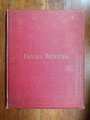 Inauguration of the Statue of Daniel Webster ~ Central Park ~ 1876 ~ Signed