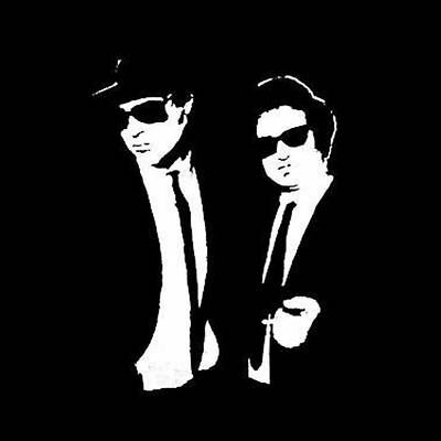 The Blues Brothers T-Shirt Jake and Elwood funny retro movie tee