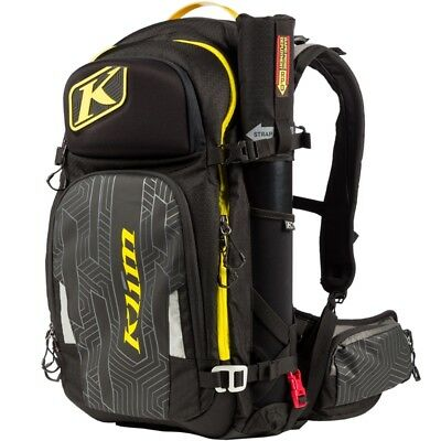 Klim Krew Pak Shovel Probe Goggle Storage Backpack Black Yellow 4012-002-000-000