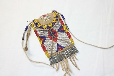 Sioux Beaded Rations Pouch - Lawson