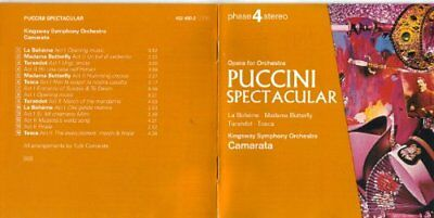Puccini Spectacular -  CD F2VG The Cheap Fast Free Post The Cheap Fast Free Post