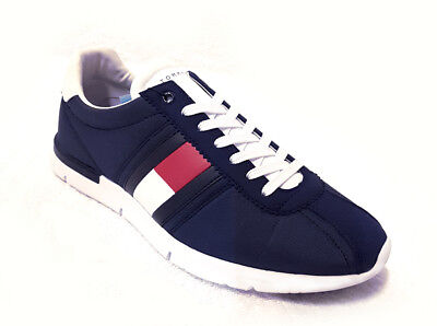 Tommy Hilfiger Herren Sport Sneaker Schuhe Men Shoes RETRO LIGHTWEIGHT NAVY 1329