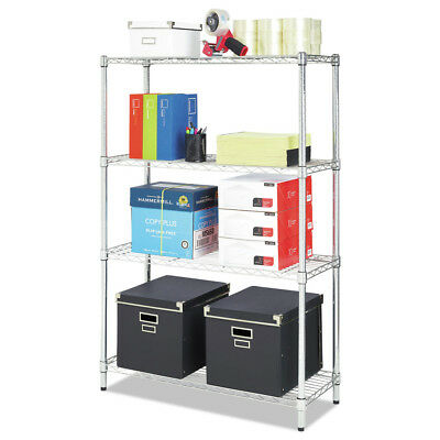 Alera SW843614SR Residential Wire Shelving Organizer, Snap-Together Design New