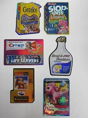 Wacky Packages Special Edition Stickers Series 2 Lot Of 12 Topps 2005 VF/NM