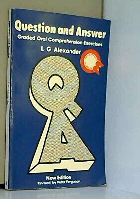 Question and Answer (FCE: Papers 4 and 5) by Alexander, L G Paperback Book The