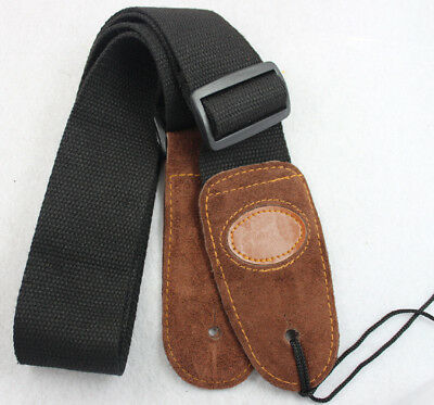 Adjustable Acoustic Bass Widening Belt Soft Electric Guitar Play Strap Stunning
